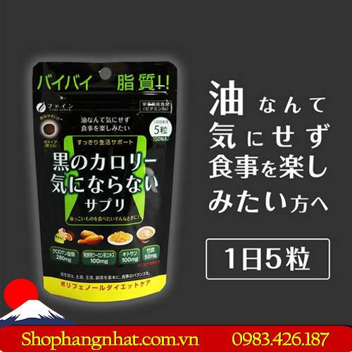 Viên Uống Giảm Mỡ Fine Japan chính hãng