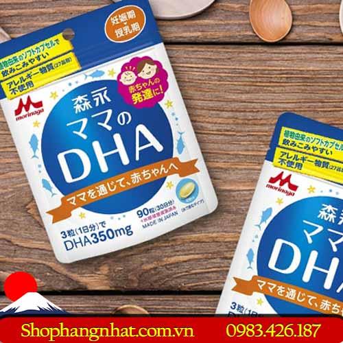 Viên uống lợi sữa DHA Morinaga