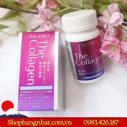 Viên uống The Collagen Shiseido Nhật Bản tiện dụng 126 viên
