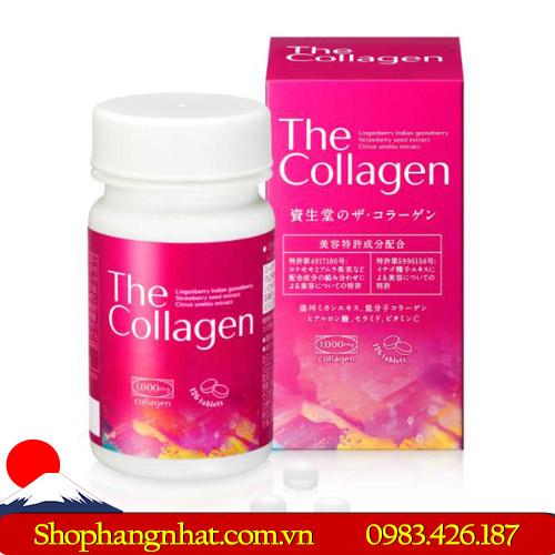 Viên uống The Collagen Shiseido Nhật Bản tiện dụng