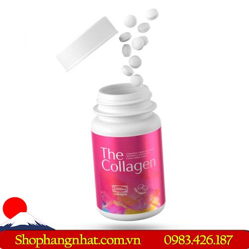 Viên uống The Collagen Shiseido tiện dụng