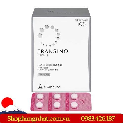 Viên uống trị nám Transino Whitening Nhật Bản Chống lão hoá
