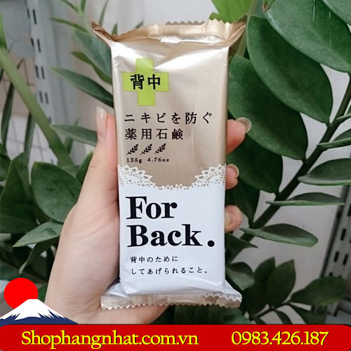 Xà Phòng Trị Mụn For Back Medicated Soap Pelican hiệu quả 135g