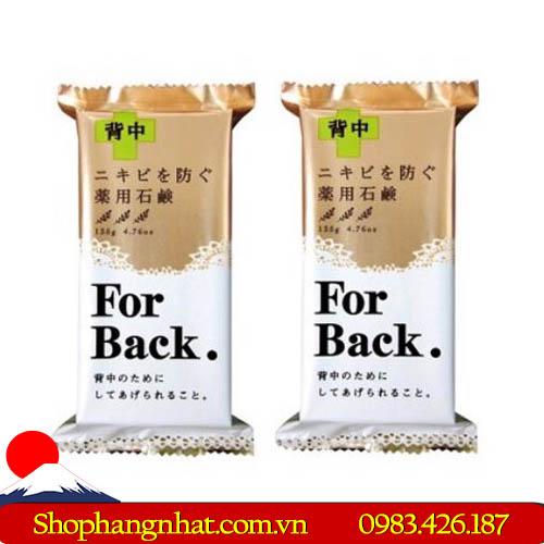 Xà Phòng Trị Mụn For Back Medicated Soap Pelican Nhật Bản 135g