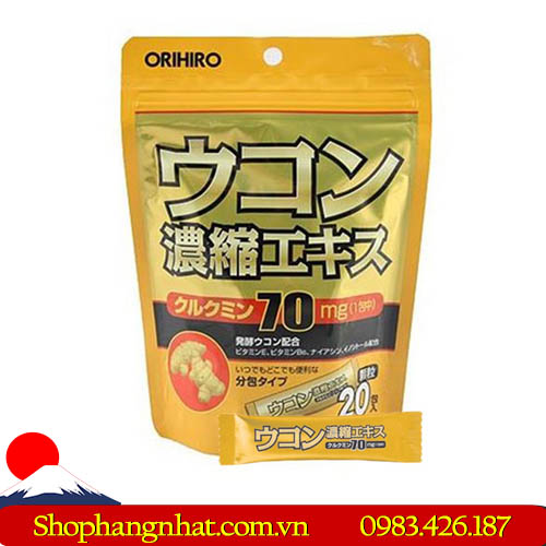 Bột giải rượu Orihiro Nhật Bản chính hãng