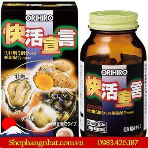 Công dụng nổi bật của Viên uống Hàu Tươi Tỏi Nghệ Orihiro