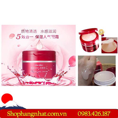 Kem dưỡng da Shiseido Aqualabel Nhật Bản nổi tiếng