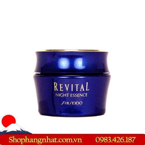 Kem dưỡng Shiseido Revital Night Essence ban đêm