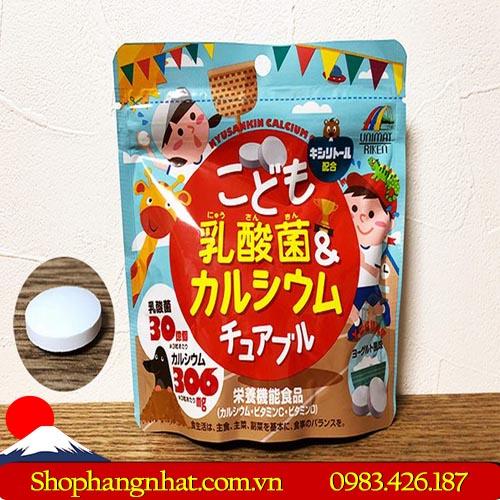 Kẹo Unimat Riken Canxi và Vitamin D