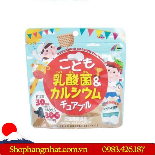 Kẹo Unimat Riken Nhật Bản Canxi và Vitamin D