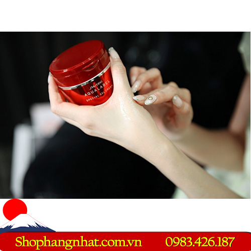 Shiseido Aqualabel White up Cream dưỡng trắng da