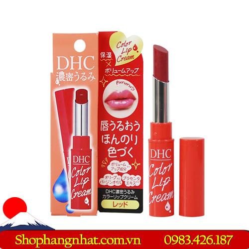 Son dưỡng môi DHC Color Lip Cream Nhật Bản đẹp tự nhiên 1.5g