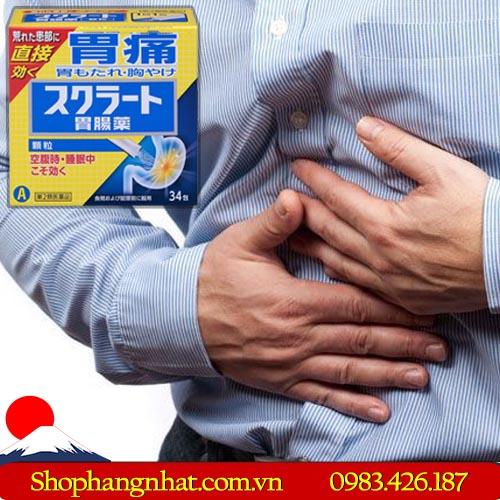 Thuốc dạ dày Lion Sukuratto Nhật Bản hệ tiêu hóa 34 gói