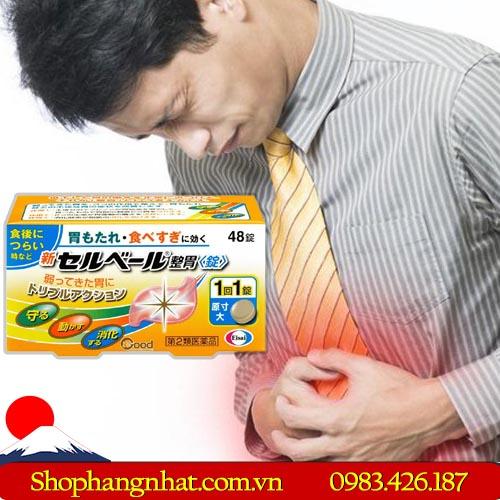 Thuốc dạ dày Sebuberu Eisai Nhật Bản đau dạ dày 90 viên