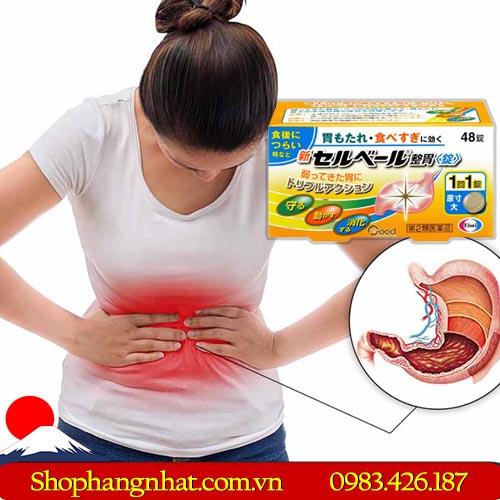 Thuốc dạ dày Sebuberu Eisai Nhật Bản đau dạ dày