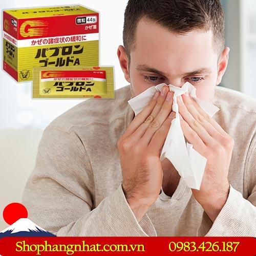 Thuốc đặc trị cảm cúm Taisho Pabron Gold A Nhật Bản 44 gói