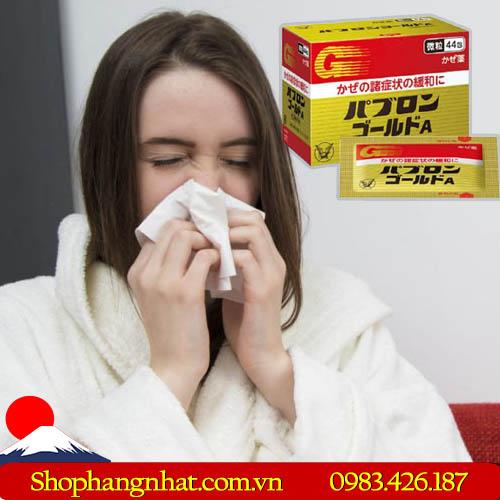 Thuốc đặc trị cảm cúm Taisho Pabron Gold A Nhật Bản chính hãng 44 gói