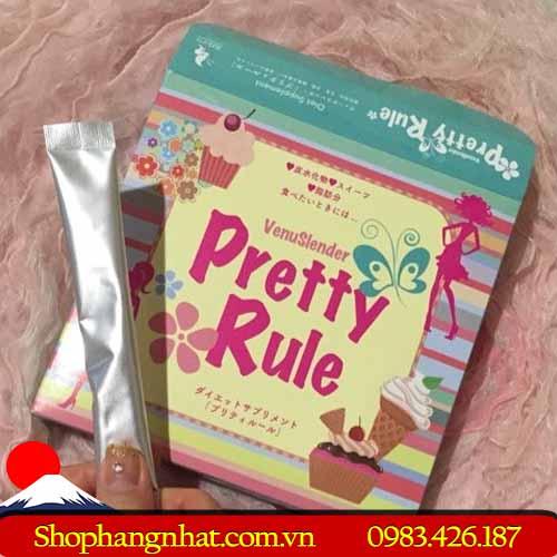 Thuốc Giảm Cân Pretty Rule Nhật Bản 30 gói