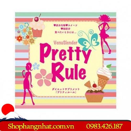 Thuốc Giảm Cân Pretty Rule Nhật Bản chính hãng 30 gói