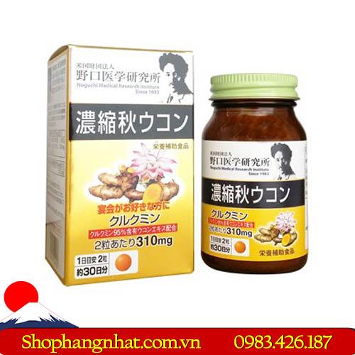 Viên uống chiết xuất nghệ Aki Meiji Ukon Nhật Bản hệ tiêu hóa