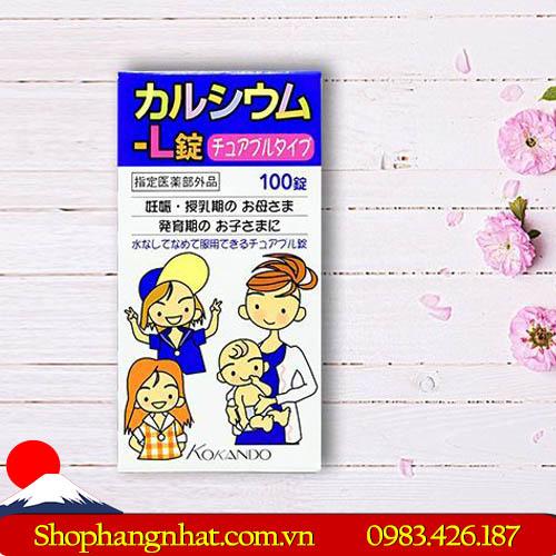 Viên uống Kokando Nhật Bản bổ sung Canxi