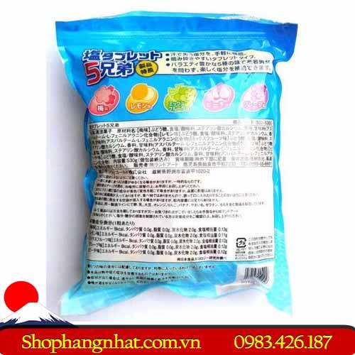 Kẹo viên bổ sung vitamin Salt Tablet chính hãng