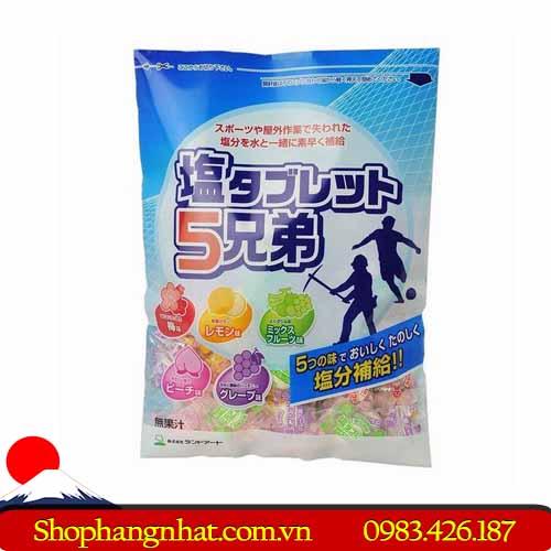 Kẹo viên bổ sung vitamin Salt Tablet Nhật Bản chính hãng