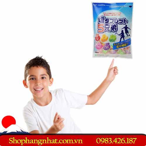 Kẹo viên bổ sung vitamin Salt Tablet