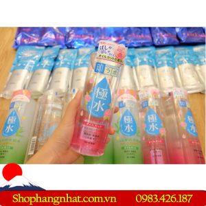 Nước hoa hồng Gạo HALABO KIWAMIZU cân bằng độ ẩm da 400ml bán chạy tại Hà Nội