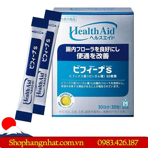 Men vi sinh Bifina R Nhật Bản hộp 20 gói giúp mau lành vết loét trong đại tràng