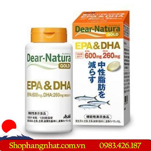 Thuốc bổ não Dear Natura DHA 500mg của Nhật Bản