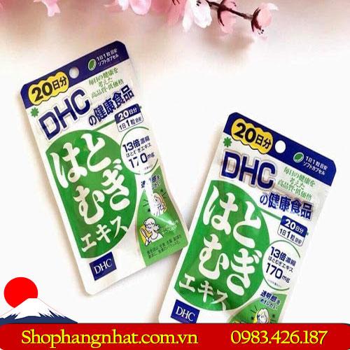 Viên uống bổ sung Canxi DHC 180 viênđược chiết xuất từ các thành phần thiên nhiên
