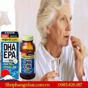 Viên uống DHA EPA Orihiro Giúp Não Hoạt Động Tốt Hơn