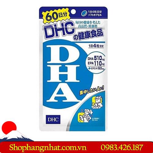 Viên uống DHC giúp tăng cường khả năng trí nhớ não bộ
