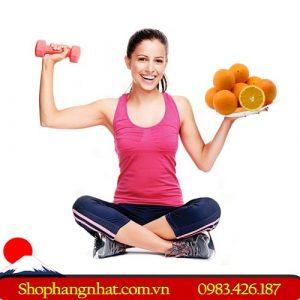 vitamin C vận động viên tốt